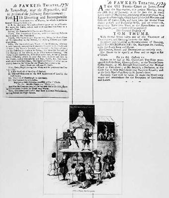 Two Adverts Relating to Faux, the Conjurer, c.1731-34