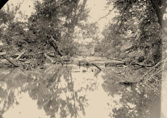 View of Bull Run, Near Manassas, VA | Ken Burns: The Civil War