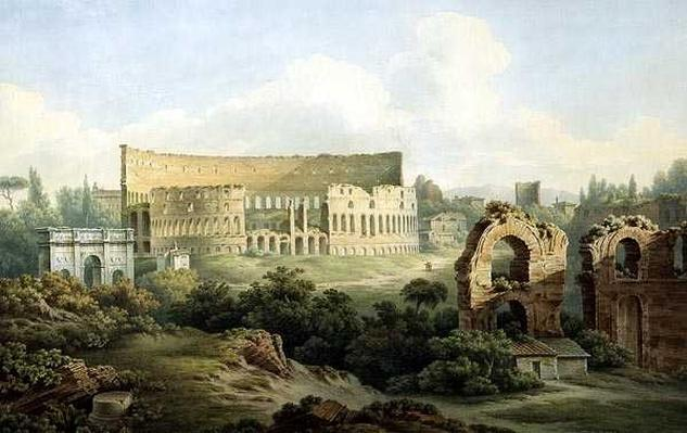 The Colosseum, Rome, 1802
