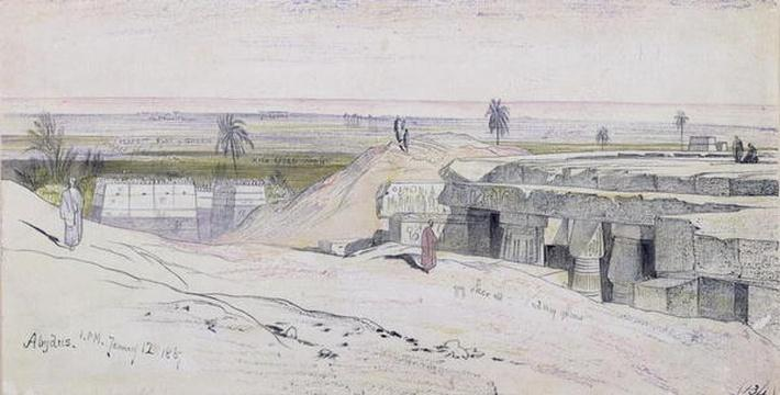 Abydus, 1pm, 12th January 1867
