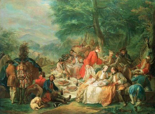 La Chasse, 18th century