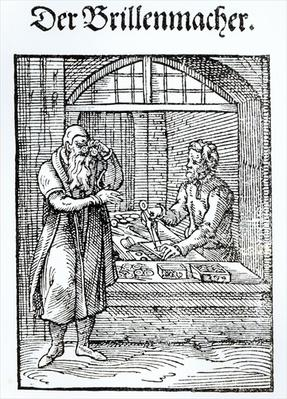 The Glasses Maker, published by Hartman Schopper