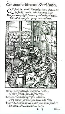 The Bookbinder, published by Hartman Schopper