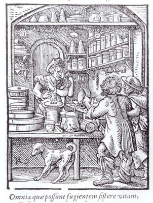 The Apothecary, published by Hartman Schopper