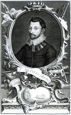 Portrait of Sir Francis Drake
