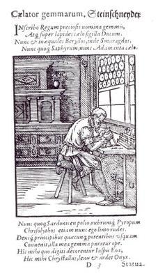 The Gem Engraver, published by Hartman Schopper