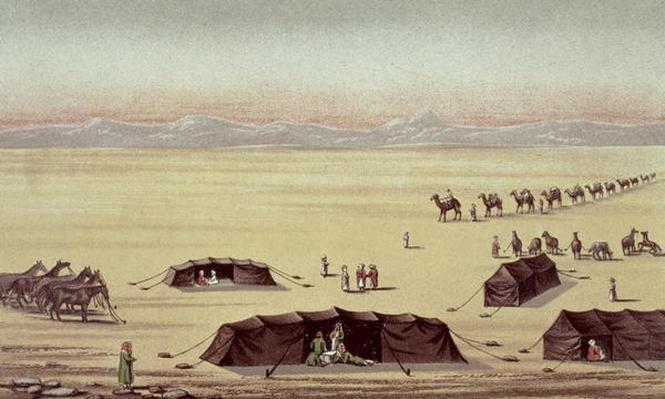 The Desert Camp of Sir Richard Burton