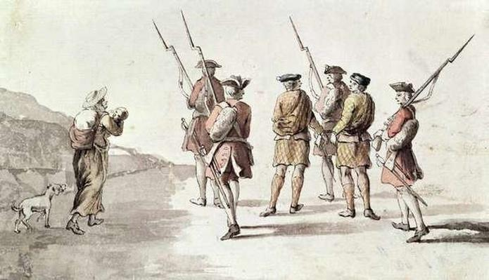Capture of the Rebel, Simon Fraser, Lord Lovat
