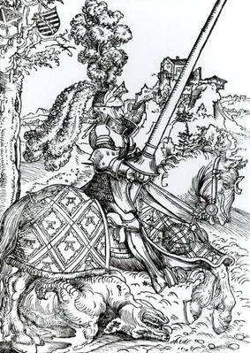 St. George on Horseback, 1507