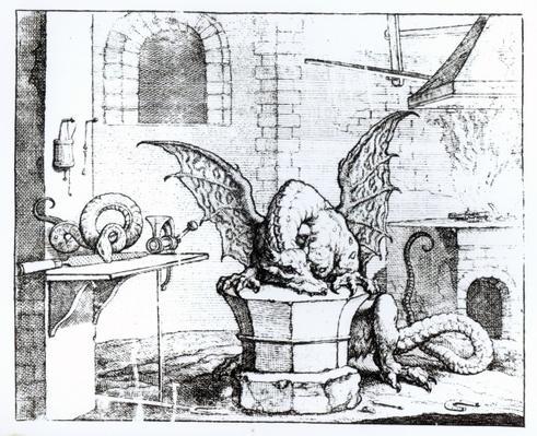 A Dragon in a Workshop