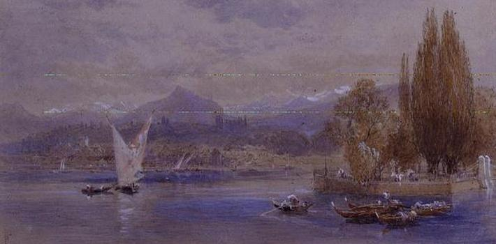 Lake Geneva, 19th century