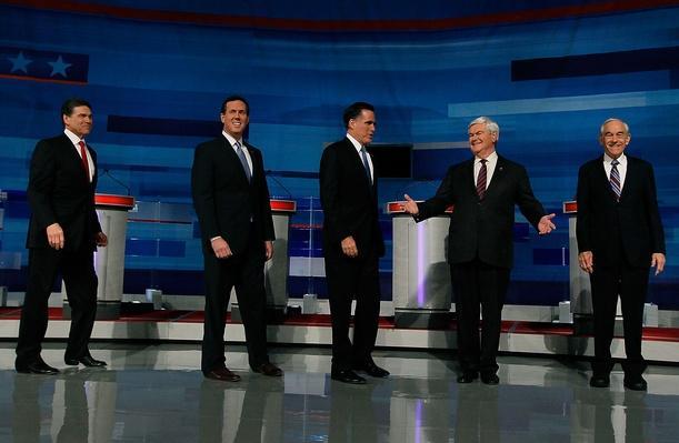GOP Presidential Candidates Debate In Myrtle Beach | U.S. Presidential Elections 2012