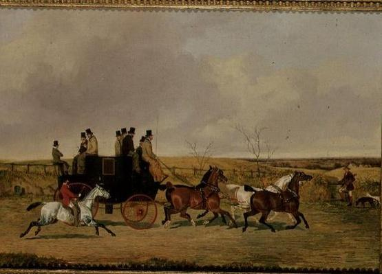 On the York Road, 19th century