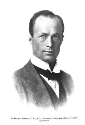 Portrait of Sir Douglas Mawson