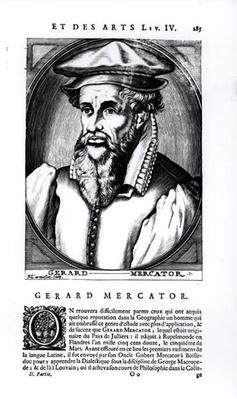 Portrait of Gerard Mercator