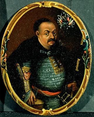 Portrait of Bohdan Khmelnytsky