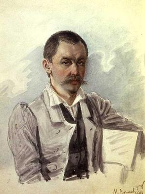 Portrait of M. Lunin