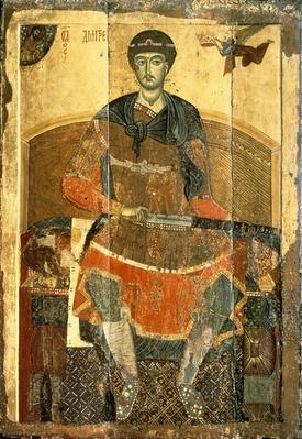 St. Demetrius of Salonica, 12th century