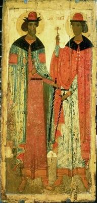 St. Boris and St. Gleb, Moscow, first half of 14th century
