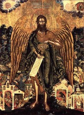 St. John the Baptist, Angel of the Wilderness