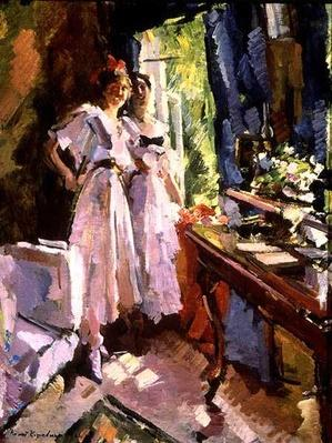 At the Open Window, 1916