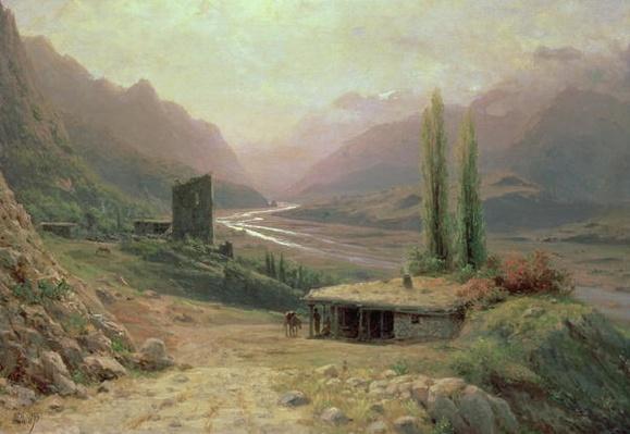 Caucasian Canyon, 1893