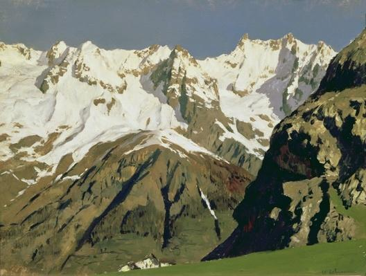Mont Blanc Mountains, 1897