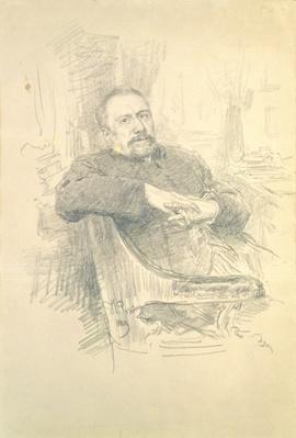 Portrait of Nikolaj Leskov