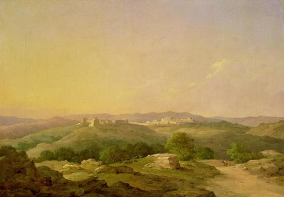 View of Bethlehem, 1857