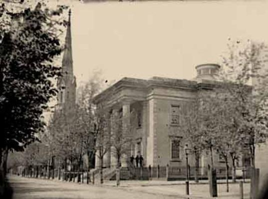 City Hall and Sycamore Church in Richmond | Ken Burns: The Civil War