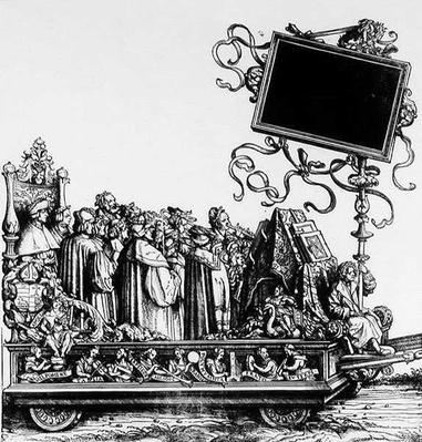 A Scene from Maximilan's Triumphal Procession, c.1516-18