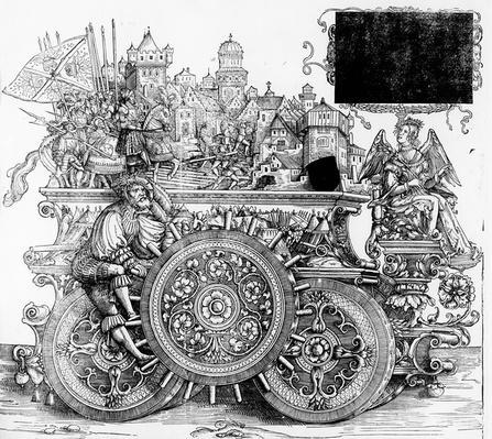 Scene from Maximilian's Triumphal Procession, c.1516-18