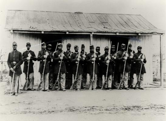 Provost Guard Of The 107th Colored Infantry | Ken Burns: The Civil War