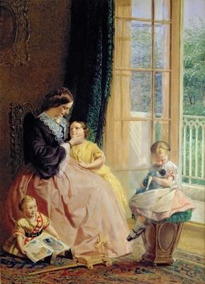 Mrs. Hicks, Mary, Rosa and Elgar