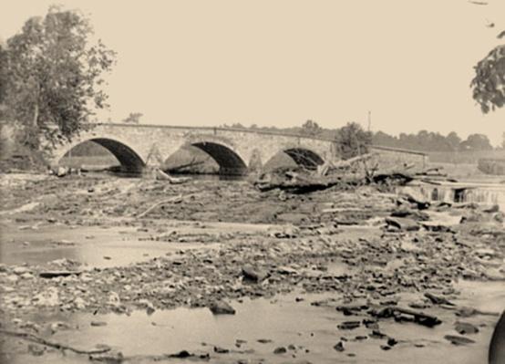 Antietam Bridge on the Sharpsburg-Boonsboro Turnpike | Ken Burns: The Civil War