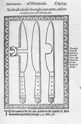 A Knife Trick