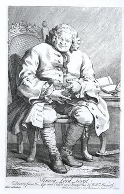 Portrait of Simon Fraser, Lord Lovat