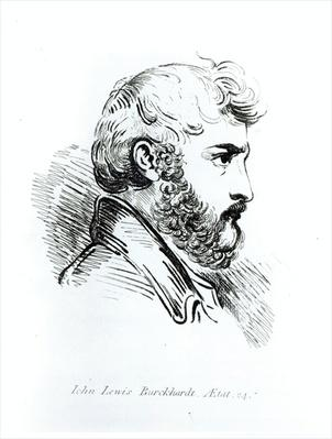 Portrait of John Lewis Burckhardt