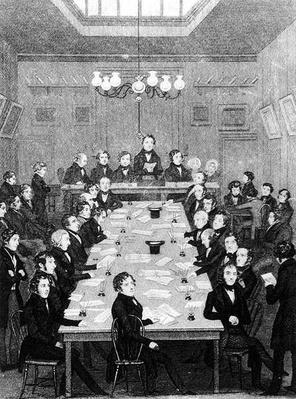 Meeting of the National Convention, 1842