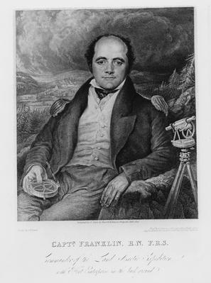 Portrait of Captain John Franklin