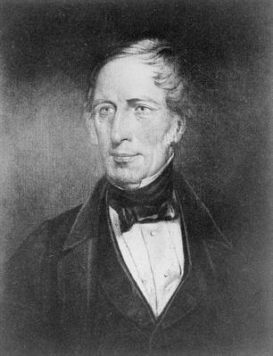 Portrait of Charles Sturt