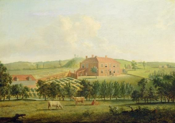 Saint Vincents, Near West Malling, Kent, c.1779
