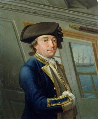 Portrait of Captain William Locker