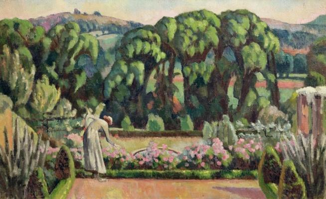 The Artist's Garden at Durbins, c.1915