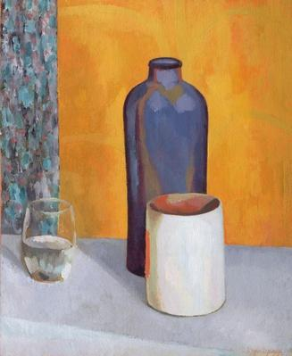 Still Life with a Blue Bottle, 1917