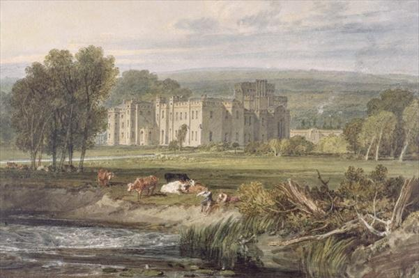 View of Hampton Court, Herefordshire, from the south-east, c.1806