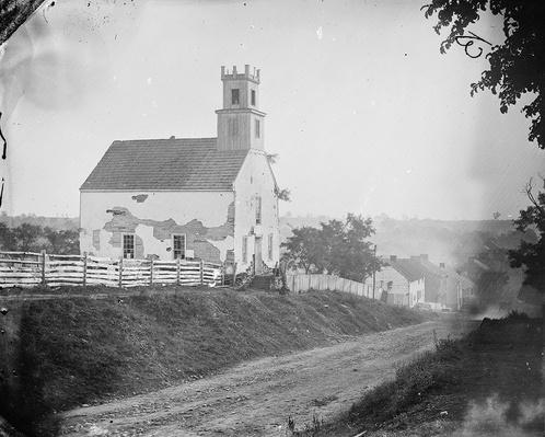 Lutheran Church in Sharpsburg, 1862 | Ken Burns: The Civil War