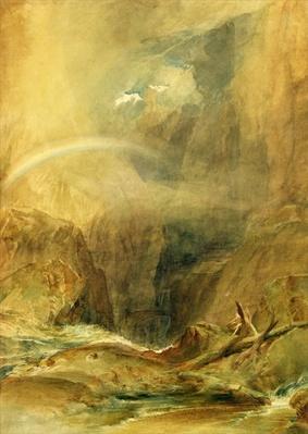 Devil's Bridge, St. Gotthard's Pass, c.1804