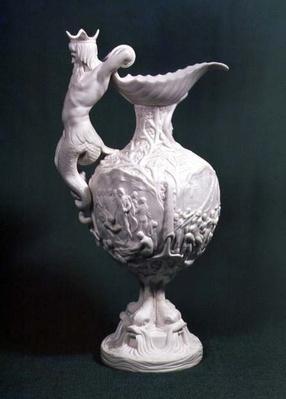 The Nelson jug, made by Samuel Alcock & Co., Burslem, 1851