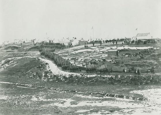 Union Troops Drilling, 1861-1865 | Ken Burns: The Civil War